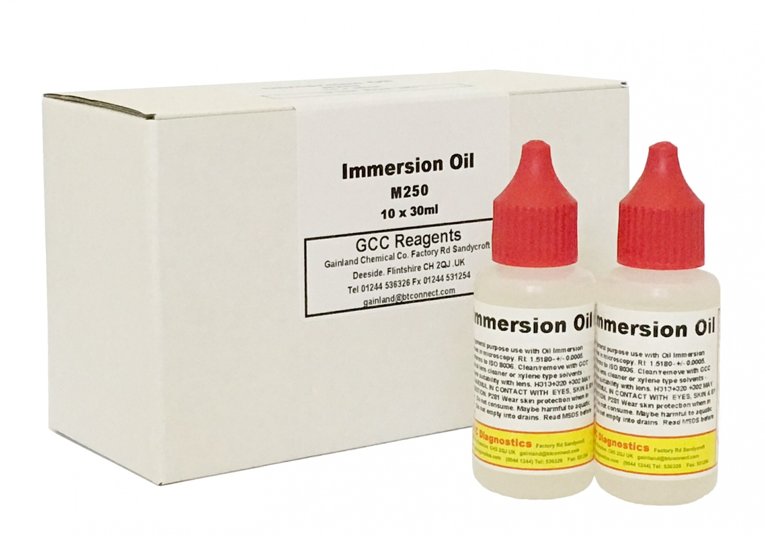 Immersion oil - M250